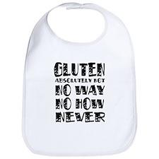 Gluten No Way Bib