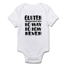Gluten No Way Infant Bodysuit
