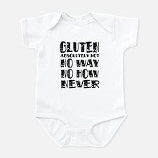 Gluten No Way Infant Bodysuit