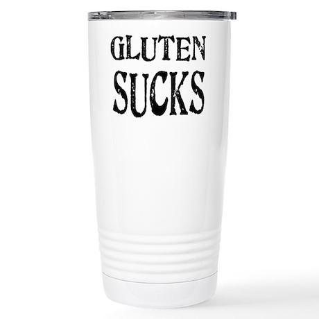 Gluten Sucks Stainless Steel Travel Mug