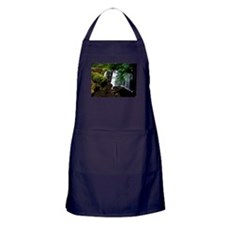 Waterfall and Mossy Rocks Apron (dark)