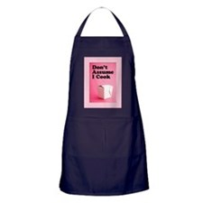 Don't Assume I Cook Apron (dark)