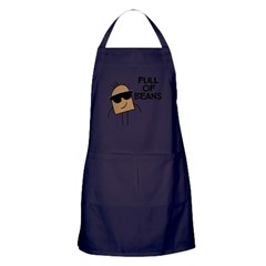 Full Of Beans Apron (dark)