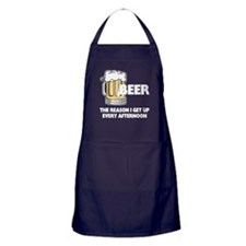 Beer Every Afternoon Apron (dark)