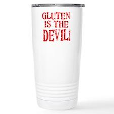 Gluten Is The Devil Travel Mug