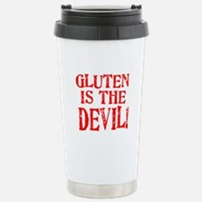Gluten Is The Devil Travel Mug