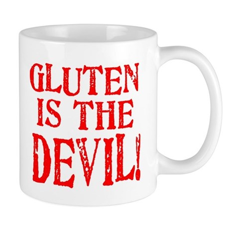 Gluten Is The Devil Mug