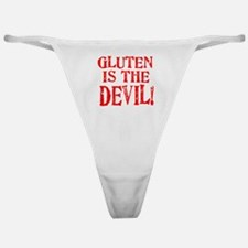 Gluten Is The Devil Classic Thong