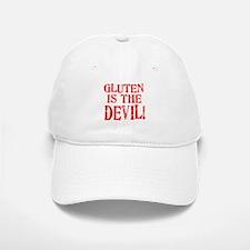 Gluten Is The Devil Baseball Baseball Cap