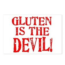Gluten Is The Devil Postcards (Package of 8)