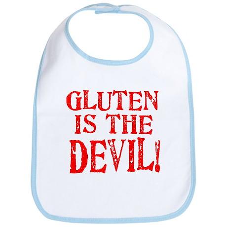 Gluten Is The Devil Bib