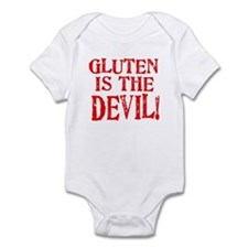 Gluten Is The Devil Infant Bodysuit