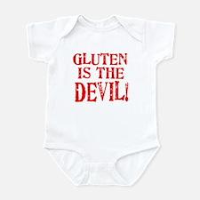 Gluten Is The Devil Infant Bodysuit