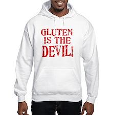Gluten Is The Devil Hoodie