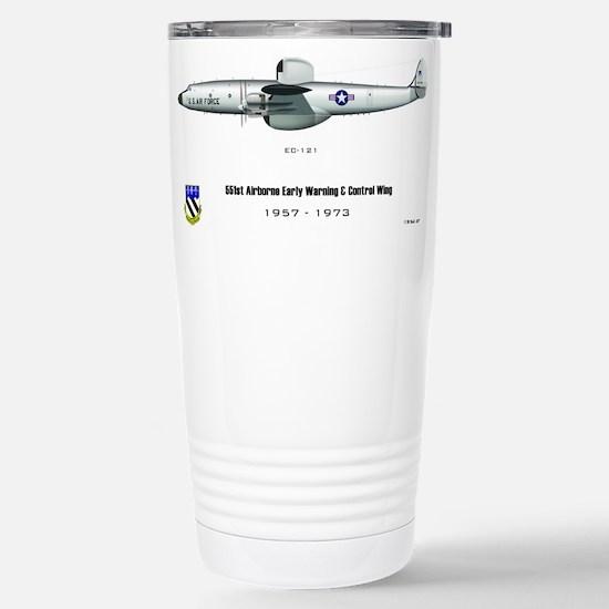 Airborne Early Warning Stainless Steel Travel Mug