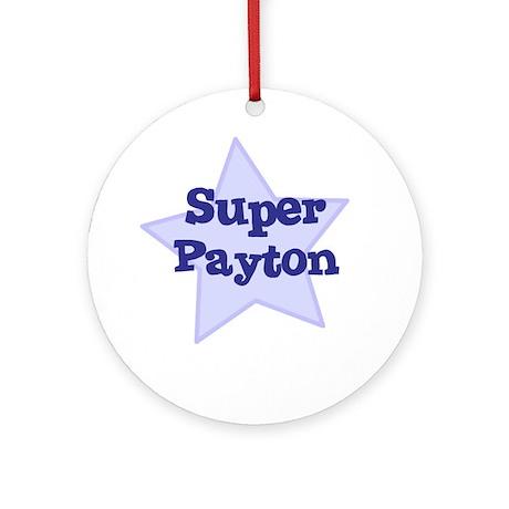 Super Payton Ornament (Round)