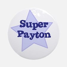 Super Payton Ornament (Round)