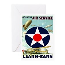 Air Service I Greeting Cards (Pk of 10)
