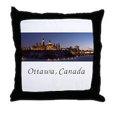 Cute Ottawa braves Throw Pillow