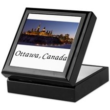 Cute Ottawa Keepsake Box