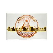 Order of the Illuminati Rectangle Magnet