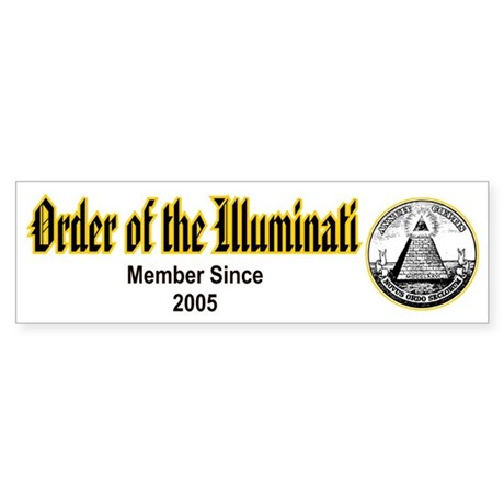Order of the Illuminati Bumper Sticker