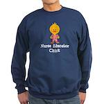 Nurse Educator Chick Sweatshirt (dark)
