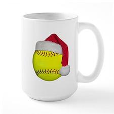 Softball Santa Mug