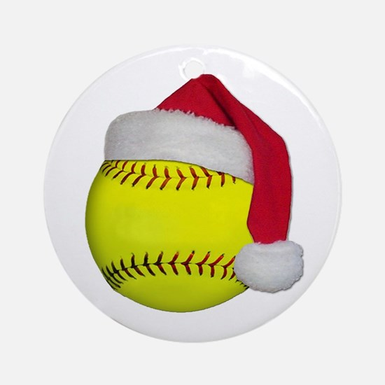 Softball Christmas Ornament | CafePress