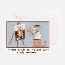 Picatso Greeting Card