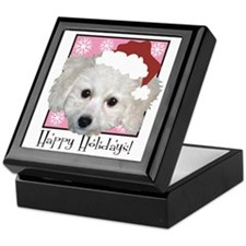 Haley Santa Pink Keepsake Box