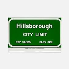 Hillsborough Rectangle Magnet