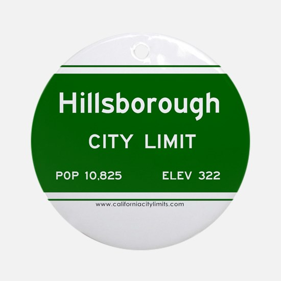 Hillsborough Ornament (Round)