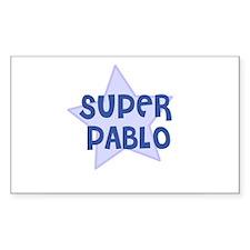 Super Pablo Rectangle Decal