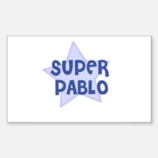 Super Pablo Rectangle Decal