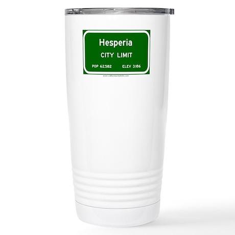 Hesperia Stainless Steel Travel Mug