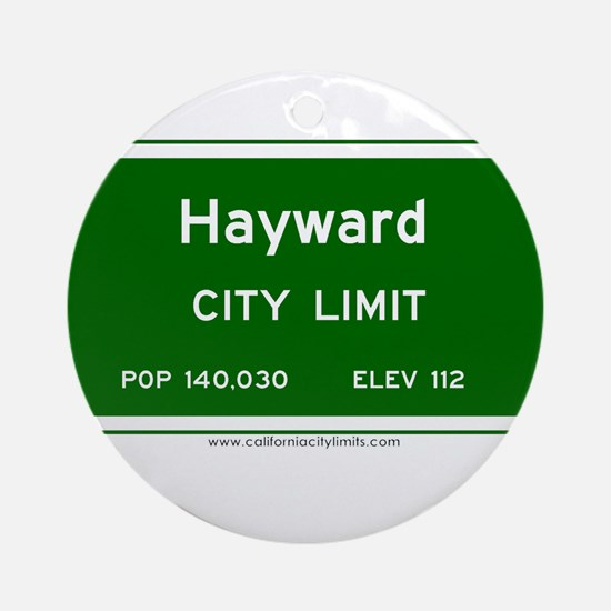 Hayward Ornament (Round)