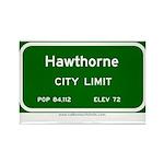 Hawthorne Rectangle Magnet (10 pack)