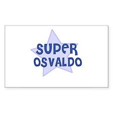 Super Osvaldo Rectangle Decal