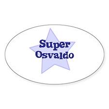Super Osvaldo Oval Decal