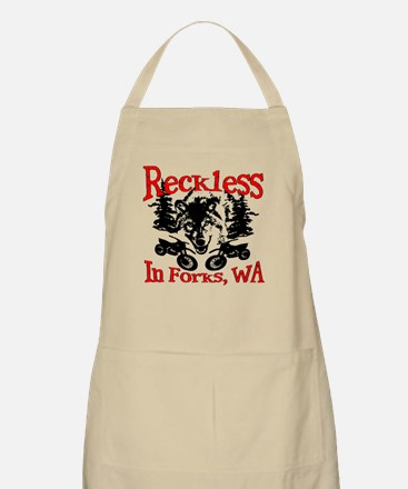 Reckless in Forks Apron