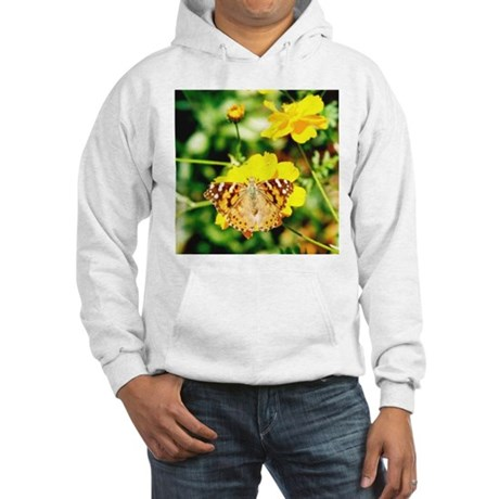 Marigold Butterfly - Hooded Sweatshirt