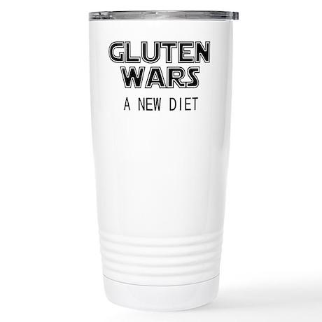 Gluten Wars: A New Diet Stainless Steel Travel Mug