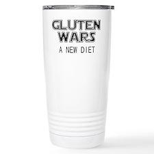 Gluten Wars: A New Diet Travel Mug