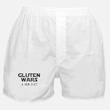 Gluten Wars: A New Diet Boxer Shorts