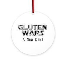Gluten Wars: A New Diet Ornament (Round)