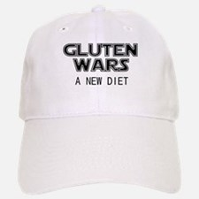 Gluten Wars: A New Diet Baseball Baseball Cap