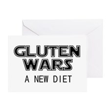 Gluten Wars: A New Diet Greeting Card