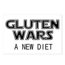 Gluten Wars: A New Diet Postcards (Package of 8)
