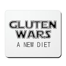 Gluten Wars: A New Diet Mousepad